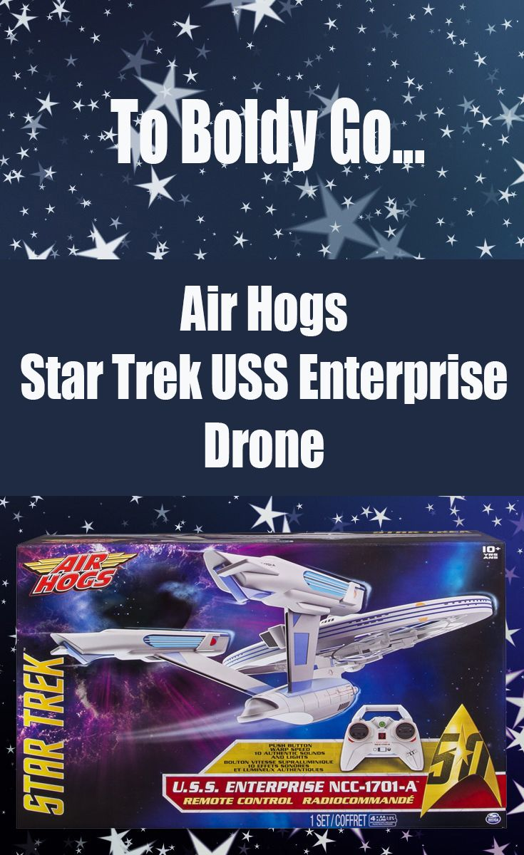 The Air Hogs Star Trek U.S.S. Enterprise Drone is set to coincide with the…