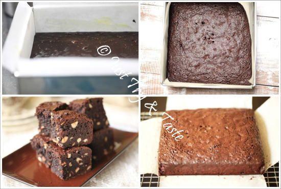 Resep Brownies Kacang Mete Bebas Gluten -Super legit dan gurih! | Just Try & Taste