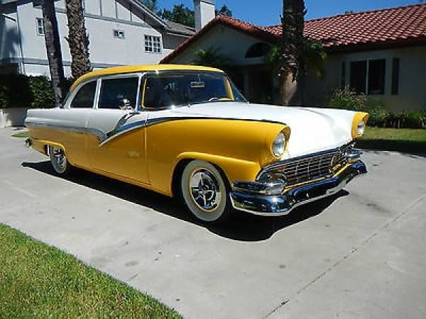 1956 Ford Fairlane/Victoria & 106 best 55 56 fords images on Pinterest | Ford fairlane Antique ... markmcfarlin.com