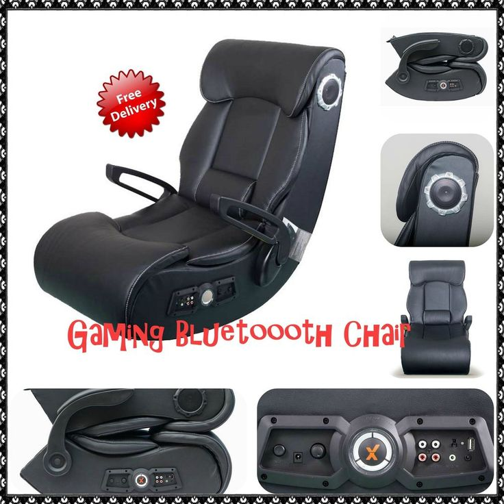 Gaming Chair Bluetooth Console Ps4 Xbox One Mp3 Tv Dvd Gaming Room Furniture  in Video Games & Consoles, Video Game Accessories, Other Video Game Accessories | eBay!