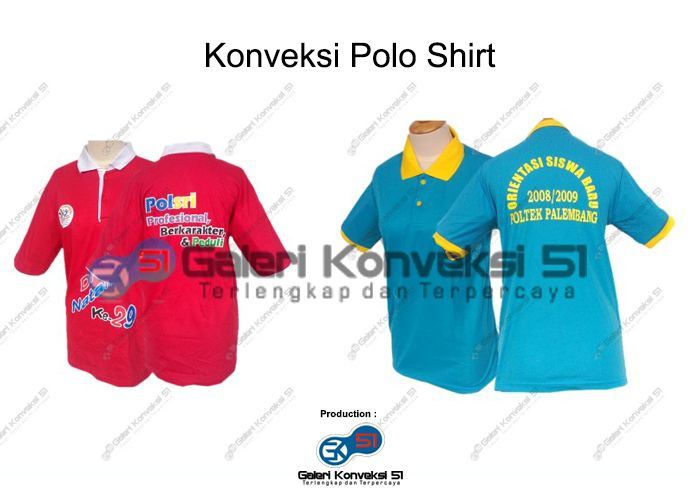 Konveksi Polo Shirt Universitas