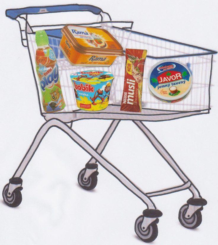 Nedávno jsem na Járových e-strankách zahlédla odkaz na nakupování. Nelíbil se mi americký nákupní vozík, tak jsem vytiskla ten český a z růz...