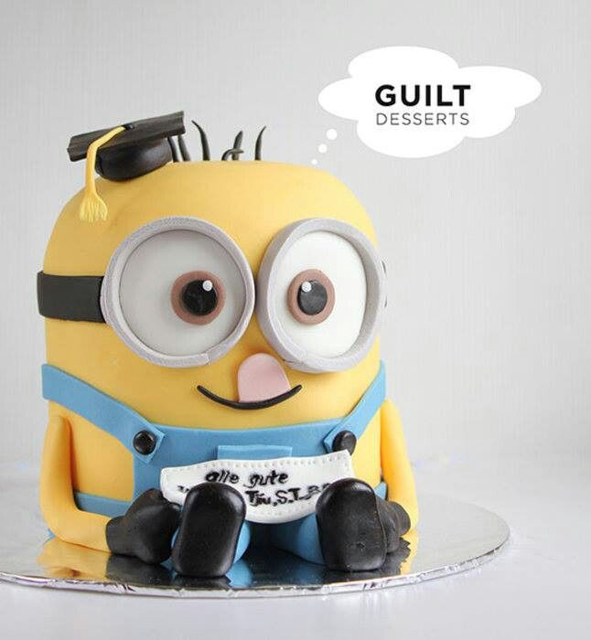 How much more adorable could this little guy get?! I must have this!Graduation cake @Courtney Baker Webber