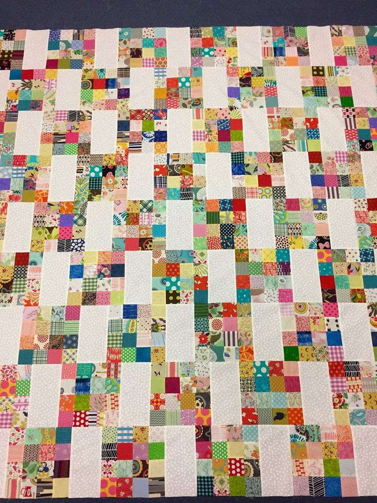 I thought I'd do a follow-up of my latest quilt!        I found a photo of a scrappy quilt on Pinterest that      sparked my interest,  wh...