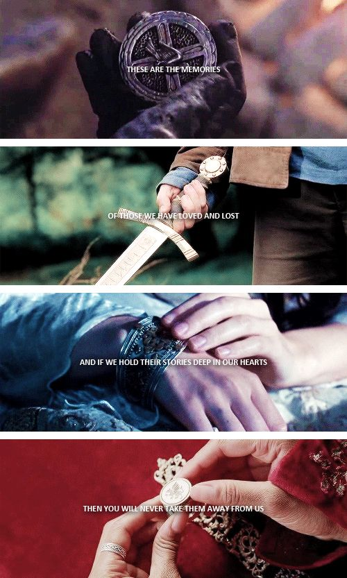 the most powerful kind of magic there is; it makes us stronger than you'll ever be. #merlin
