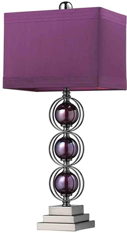 The 25+ best Purple lamp shade ideas on Pinterest   Purple lamp ...