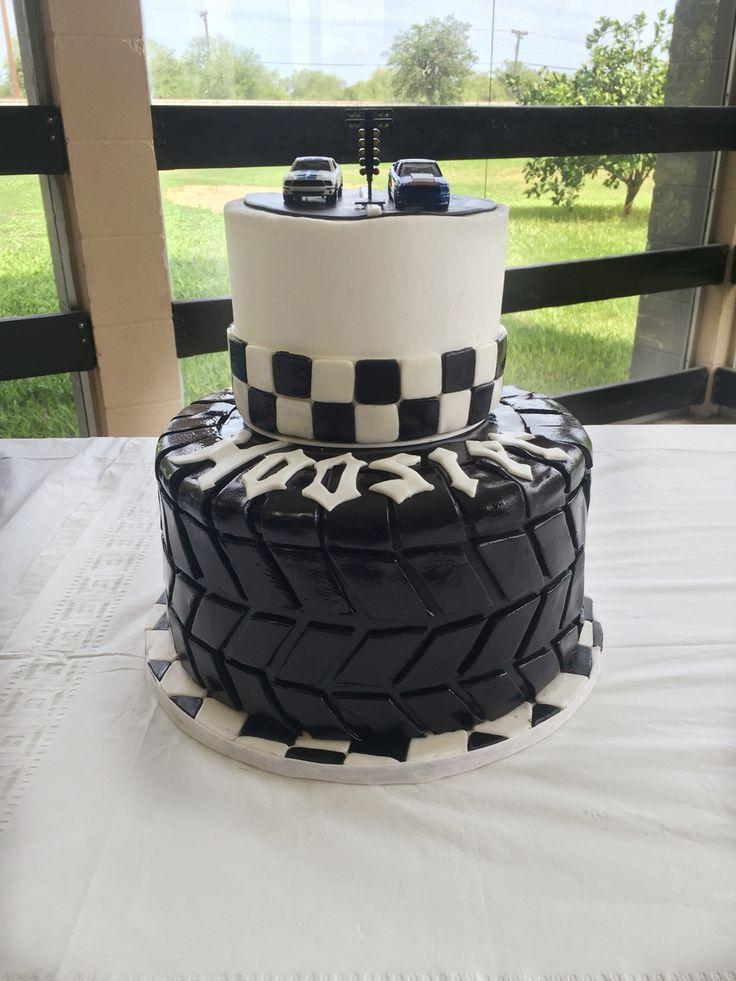 Hoosier Race Car Tire - Grooms Cake.