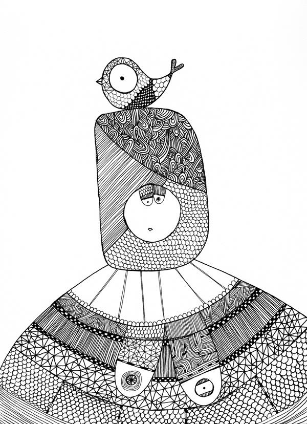 Chubby Ladies by Xenia Spyrou, via Behance