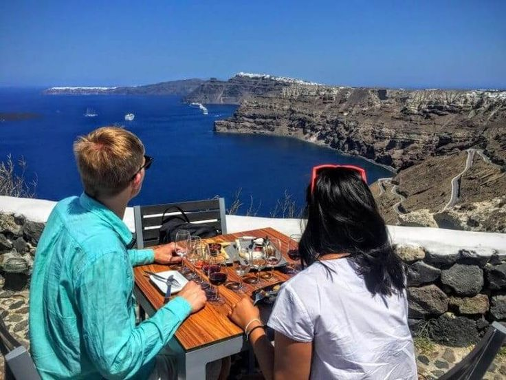 The Santorini Wine Roads Tour visits three family Estates and many other destinations to give you a taste of the real island wine culture.