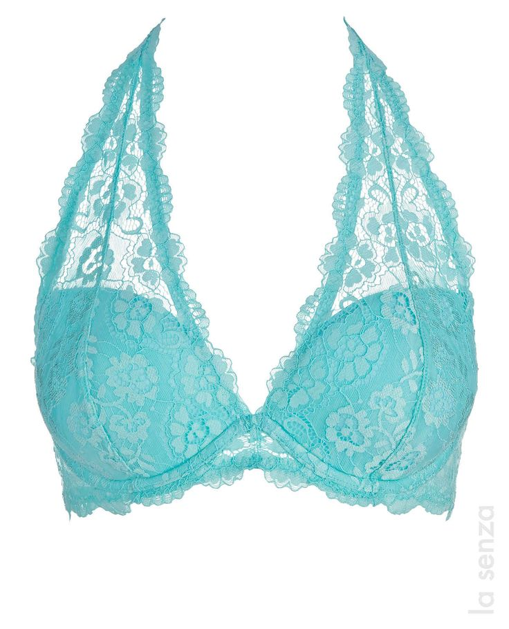 The bra everybody is talking about! Exclusively at La Senza. The Halter in new colors! #LaSenza #Lingerie