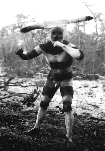 The now extinct Selk'nam people from Patagonia
