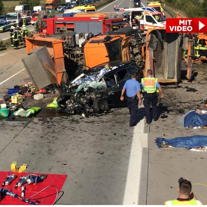 Aktuelle Unfälle A9