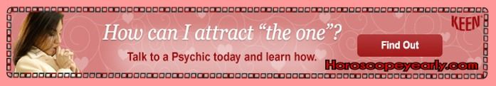 How can I attract the one? Talk to a psychic today and learn how. Whenever you browse the directory KEEN tells you the real-time availability of your chosen psychic advisor. You're never charged if they're not available, you're never charged for your psychic reading without your permission and your personal information (phone number, email and other personal info) are never revealed as KEEN makes the connection. See Details: http://www.horoscopeyearly.com/keen-psychic-reading/
