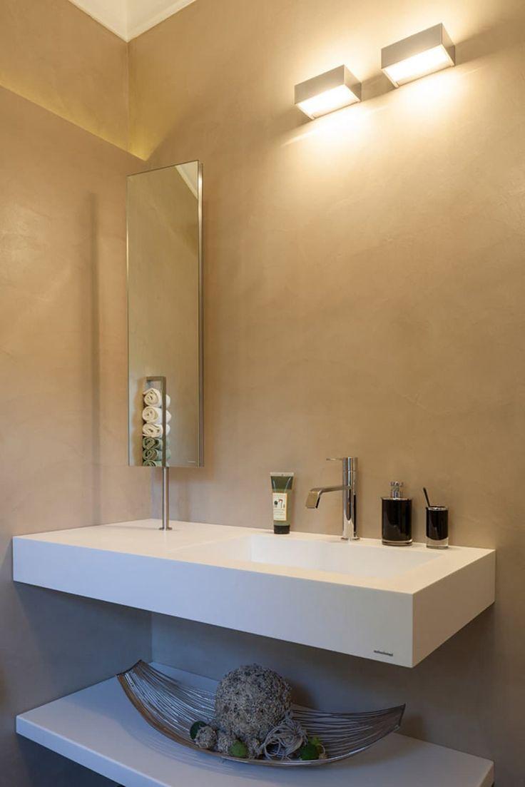 Beton cirè meets altbau villa gäste wc moderne badezimmer von einwandfrei