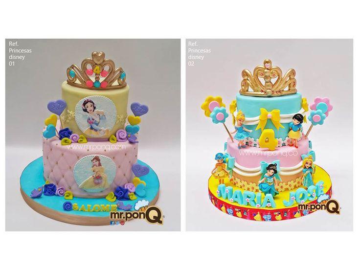 Torta princesas disney