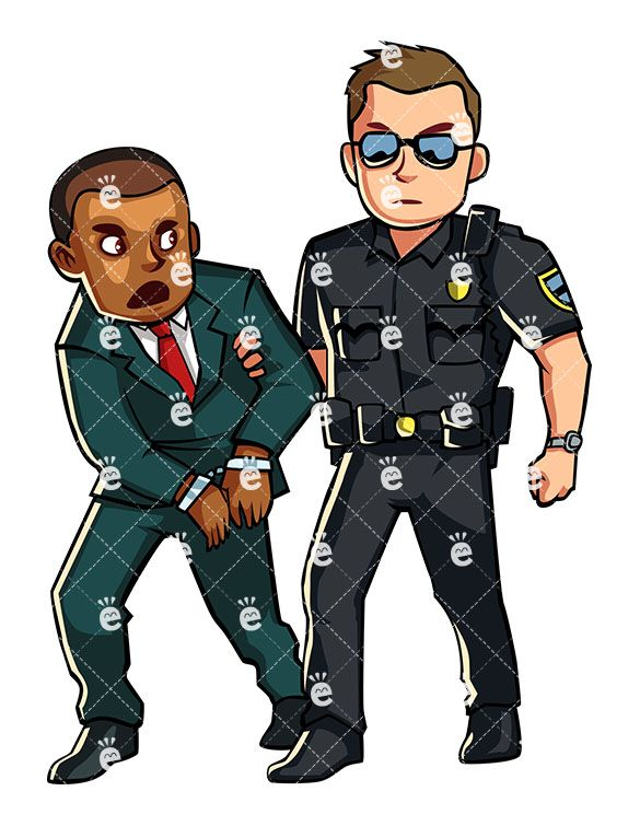 Police Officer Arresting A Formally Dressed Black Man:  #african #african-american #american #angry #arguing #arrest #arrested #black #business #businessman #busted #captured #cartoon #character #clipart #confined #convict #cop #corrupted #crime #criminal #cuffs #darryl #drawing #entrepreneur #formal #graphic #handcuffed #handcuffs #illegal #illustration #image #individual #jail #justice #law...