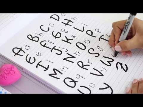 TIPS PARA MEJORAR TU LETRA, REGRESO A CLASES! - YouTube