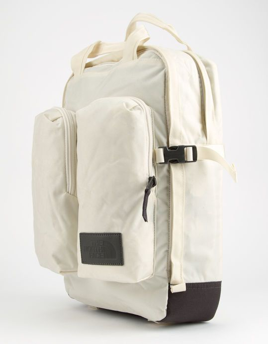 ce9f16c7c THE NORTH FACE Mini Crevasse Vintage White Heather Backpack ...
