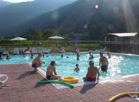 Camping Val Rendena - Darè - Trentino - Kindvriendelijk, ruim zwembad, in de bergen ,vlak fietspad