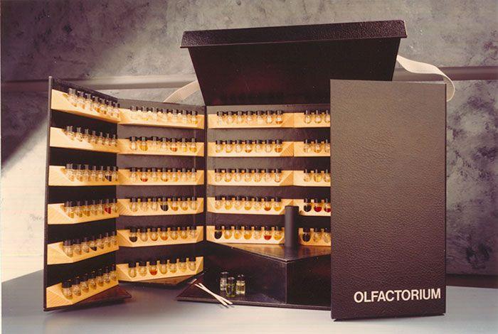Premier Olfactorium, l'orgue du parfumeur