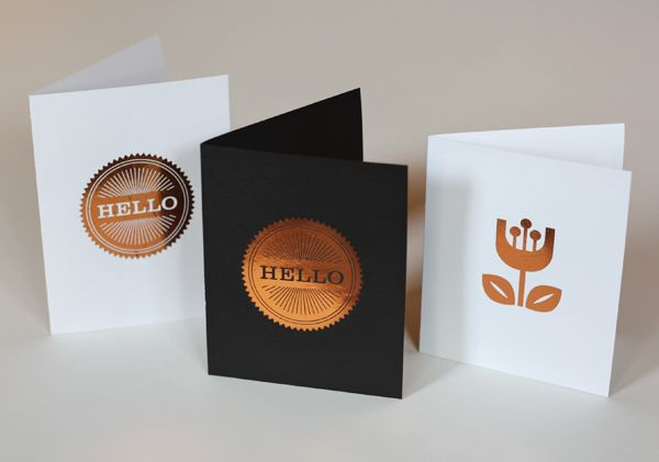 A genius tutorial for DIY cards with copper foil from How About Orange. They would be fun to make for Halloween party invites!