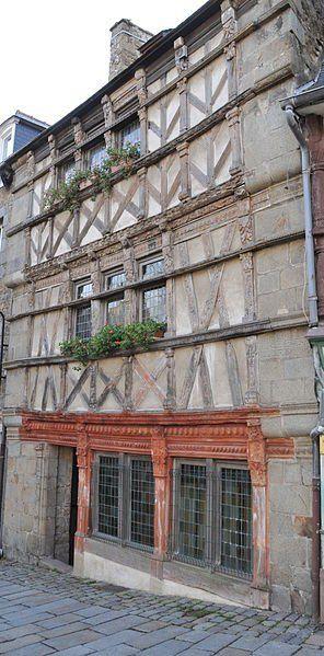 L'Hôtel des Ducs de Bretagne, Saint-Brieuc, Côtes d'Armor, France