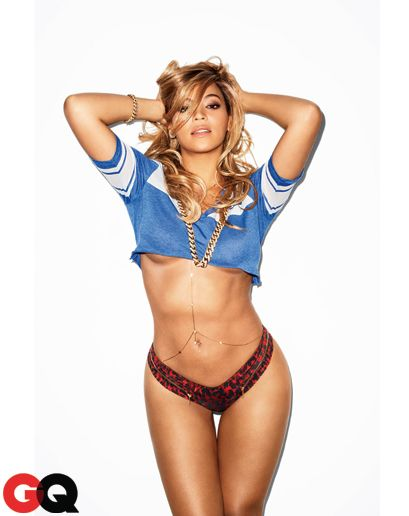 obsessed with her.     Photos: Beyonce in GQ February 2013: Photos: GQ.