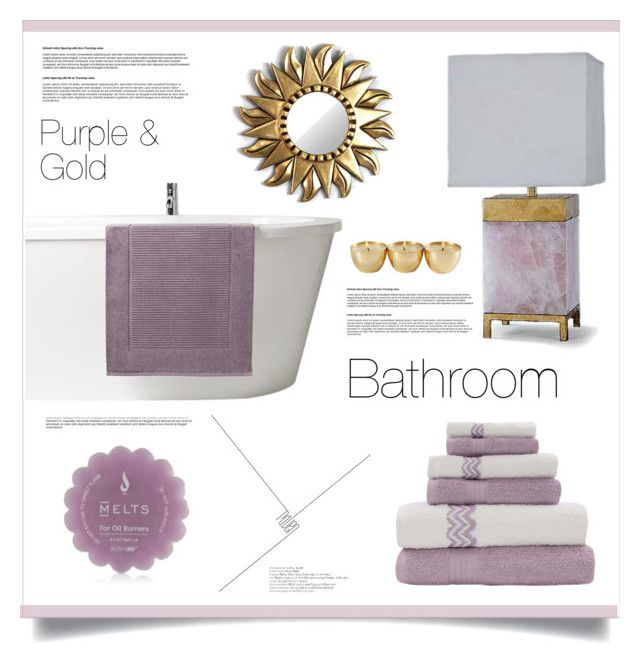 17 best images about my bathroom ideas on pinterest for Purple and gold bathroom ideas