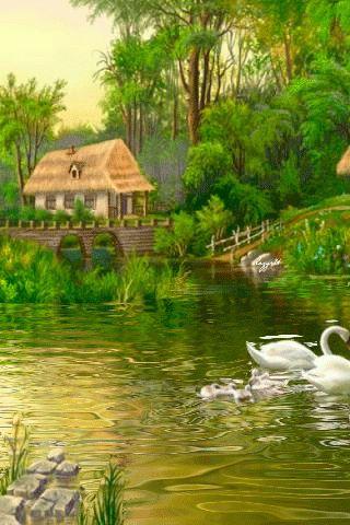 gifs y fondos imgenes de paisajes animados