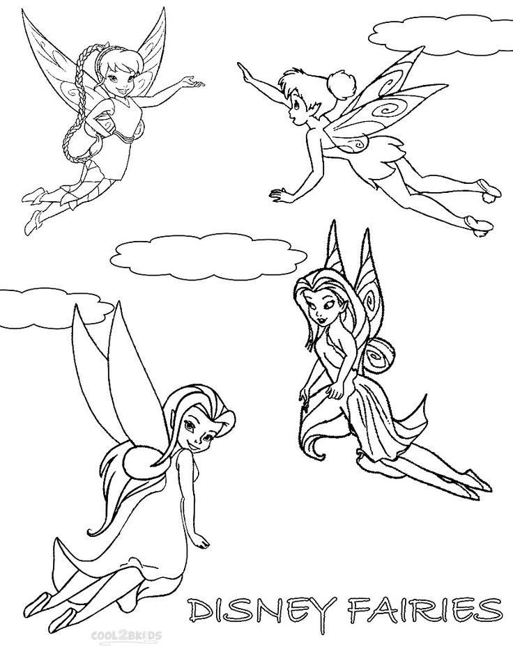 printable disney fairies coloring pages for kids cool2bkids disney coloring pages fairy. Black Bedroom Furniture Sets. Home Design Ideas