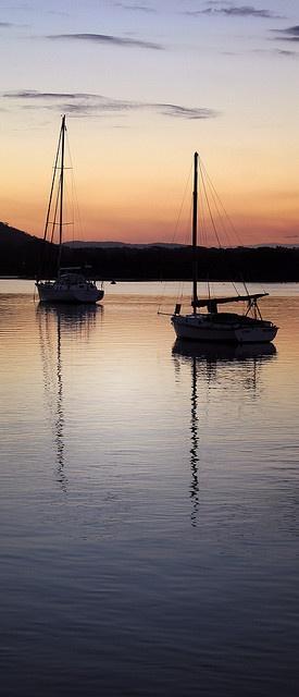 Dunbogan sunset, NSW