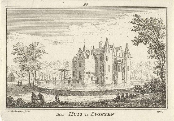 Huis te Swieten, Abraham Rademaker, Willem Barents, Antoni Schoonenburg, 1727 - 1733