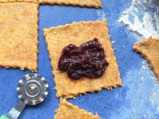 Špaldové mrkváčiky s domácim slivkovým lekvárom bez cukru