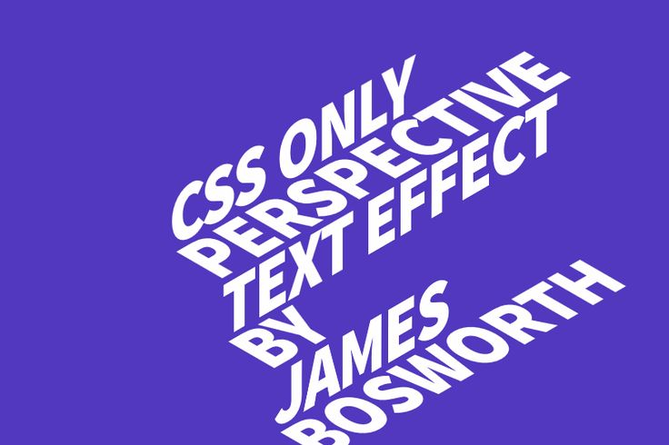 CSS text hover animation: an experiment using webfonts in combination with CSS 3D transform tools. Demo and download *zip.
