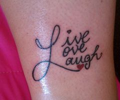 Another Live, Love, Laugh design