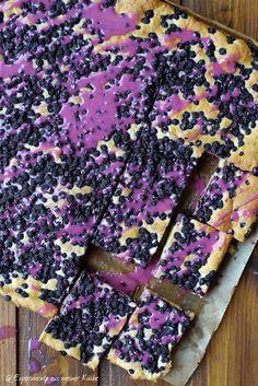 Experimente aus meiner Küche: Heidelbeer-Quark-Kuchen