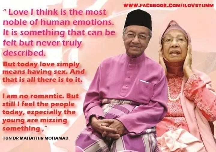 Luahan Hati Dr Mahathir Mohamad - http://malaysianreview.com/117447/luahan-hati-dr-mahathir-mohamad/