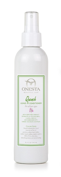 natural shampoo onesta hair care
