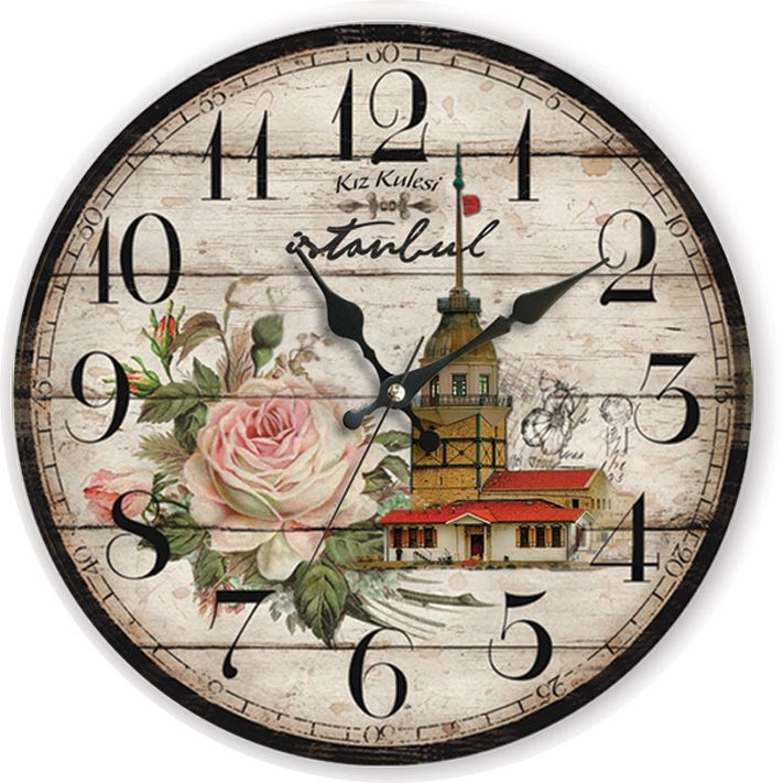 Kız Kulesi Antik Ahşap Duvar Saati  Ürün Bilgisi;  MDF gövde Sessiz akar saniye Çap 35 cm. Kız Kulesi Antik Ahşap Duvar Saati Çok şık ve dekoratif ahşap duvar saati Ürün resimde olduğu gibidir