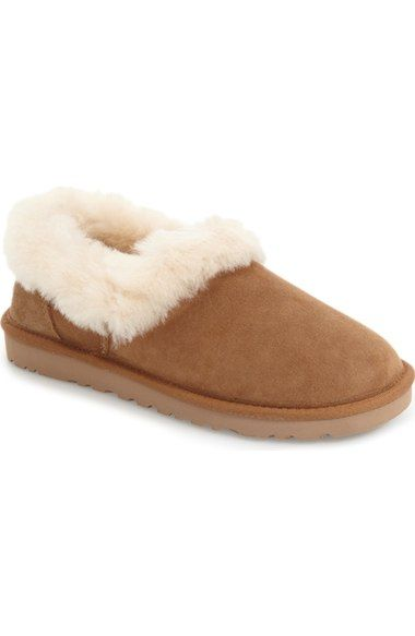 UGG® Nita Genuine Shearling Slipper (Women) available at #Nordstrom