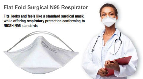 Looks like a standard surgical mask & protects like N95 respirators. Order your FREE SAMPLES from RONCO Canada, compare, switch and save ► http://ca.en.safety.ronco.ca/ftpimg/MEDIA%20CENTRE/Print%20Materials/Flat%20Fold%20Surgical%20N95%20Respirators.pdf