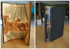 Bookfolding for a lawyer