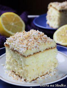 ciasto bananowe , ciasto kokosowe , bananowo - kokosowe , ciasto z kremem budyniowym , krem kokosowy , krem bananowy , ostra na slodko , latwe przepisy , najlepsze ciasta (2)xx