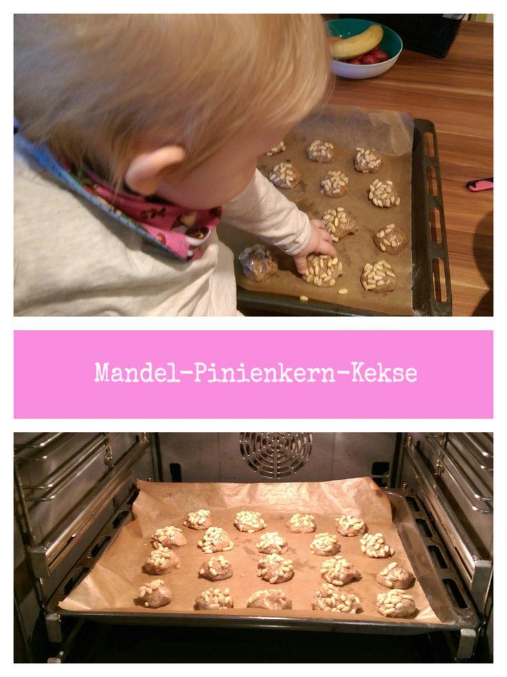 Rezept für Mandel-Pinienkern-Kekse - Ideal zur Weihnachtszeit - Kekse backen
