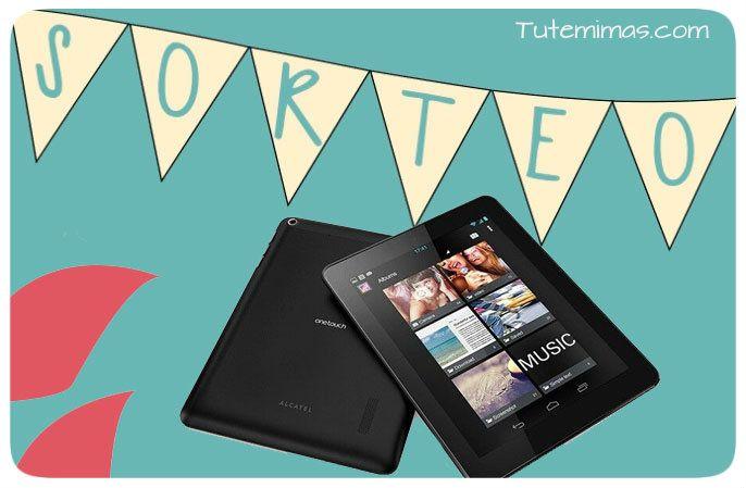 """¡¡No te olvides!! continuamos con nuestro súper #sorteo Tutemimas.com!!! Sólo 6 días y 14 horas para conocer el/la ganador@ de esta tablet Alcatel 8"""" HD con pantalla IPS. Dual Core, Android 4.1 , 1Gb DDR3, 1080p, 2 cámaras y USB valorada en 90€ !! Además sólo por participar tendrás un cupón descuento del 10% en tu compra de productos icon !! Vamos!! PARTICIPA Y GANA"""