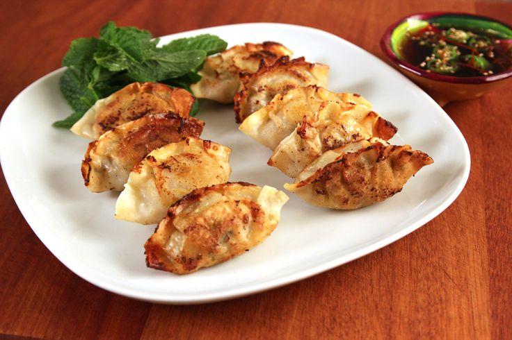 Mandu Guk (Korean Dumpling Soup) - Dumplings may be made ahead and frozen. Dumplings can be steamed or fried as well used in soup.