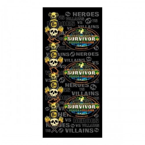 Survivor Heroes vs Villains Merged Buff - Black