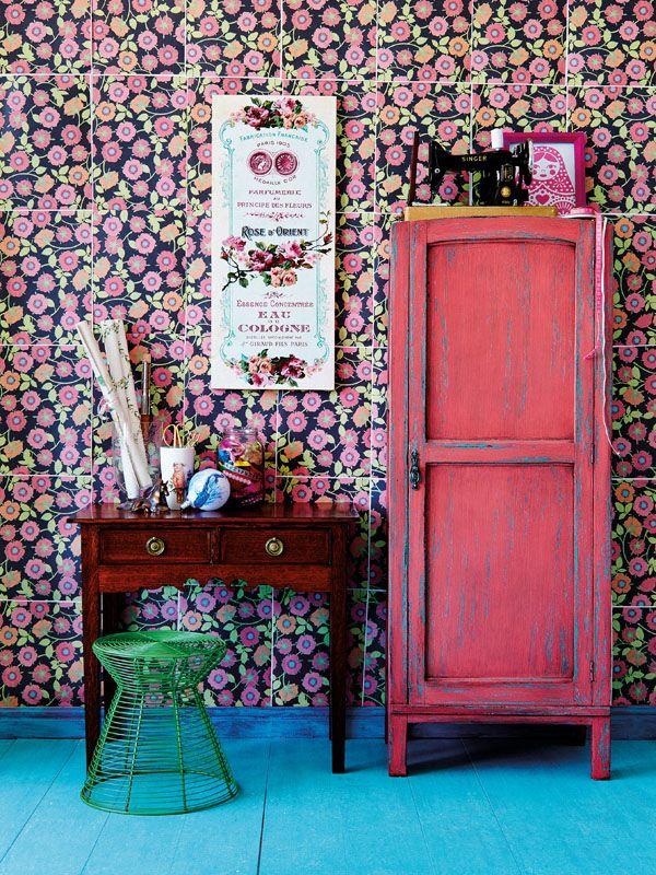 les 58 meilleures images du tableau la d coration fleurie. Black Bedroom Furniture Sets. Home Design Ideas