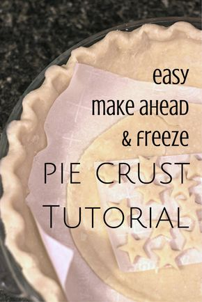 This easy pie crust recipe is perfect for learning how to make the best and flakiest pie crust. A recipe from my great grandmother, it is made with shortening. Make it ahead and freeze it like I do so that you'll have a very easy time making a pie for your next event! The best recipe ever!!!