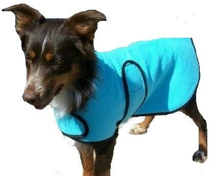 Dog Cool Coat custom made just for your dog with velcro front closure - pinned by pin4etsy.com